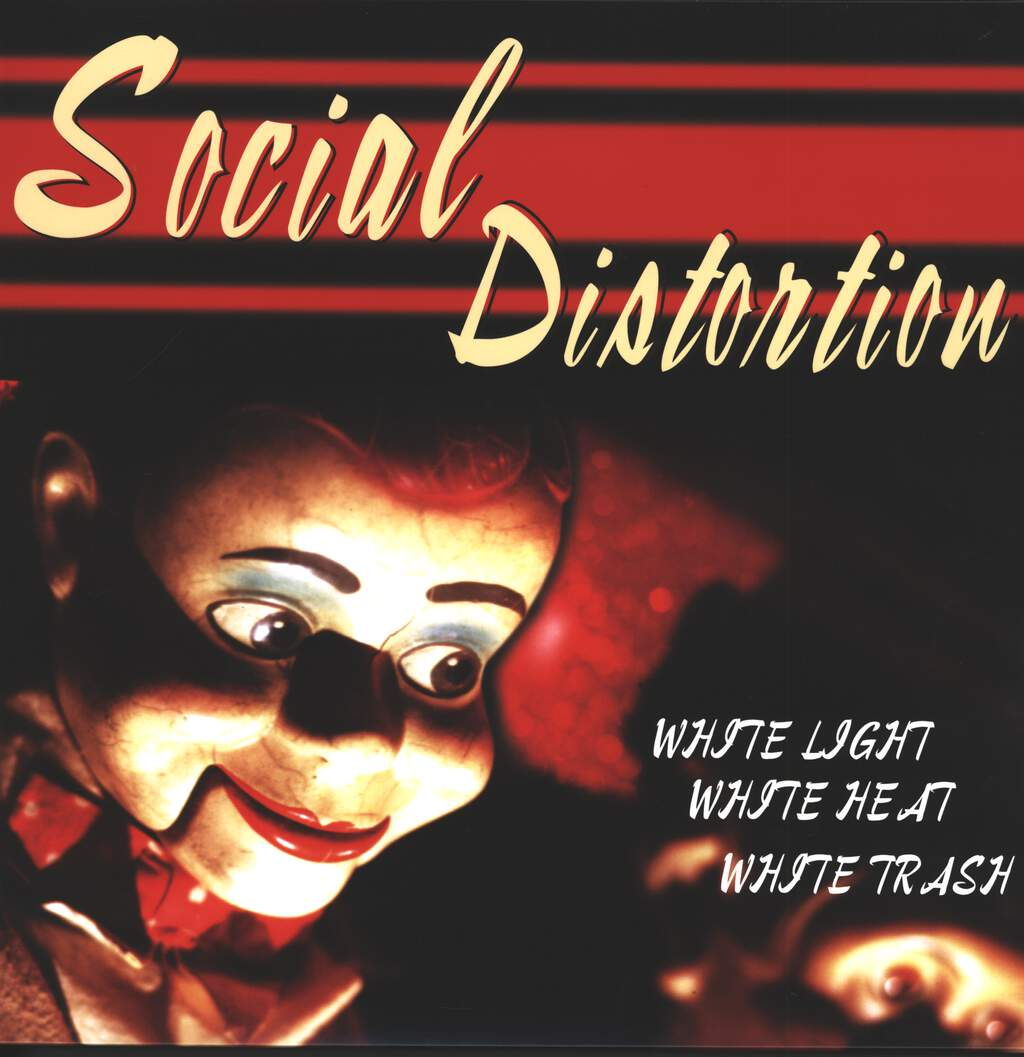 Social Distortion: White Light White Heat White Trash, LP (Vinyl)