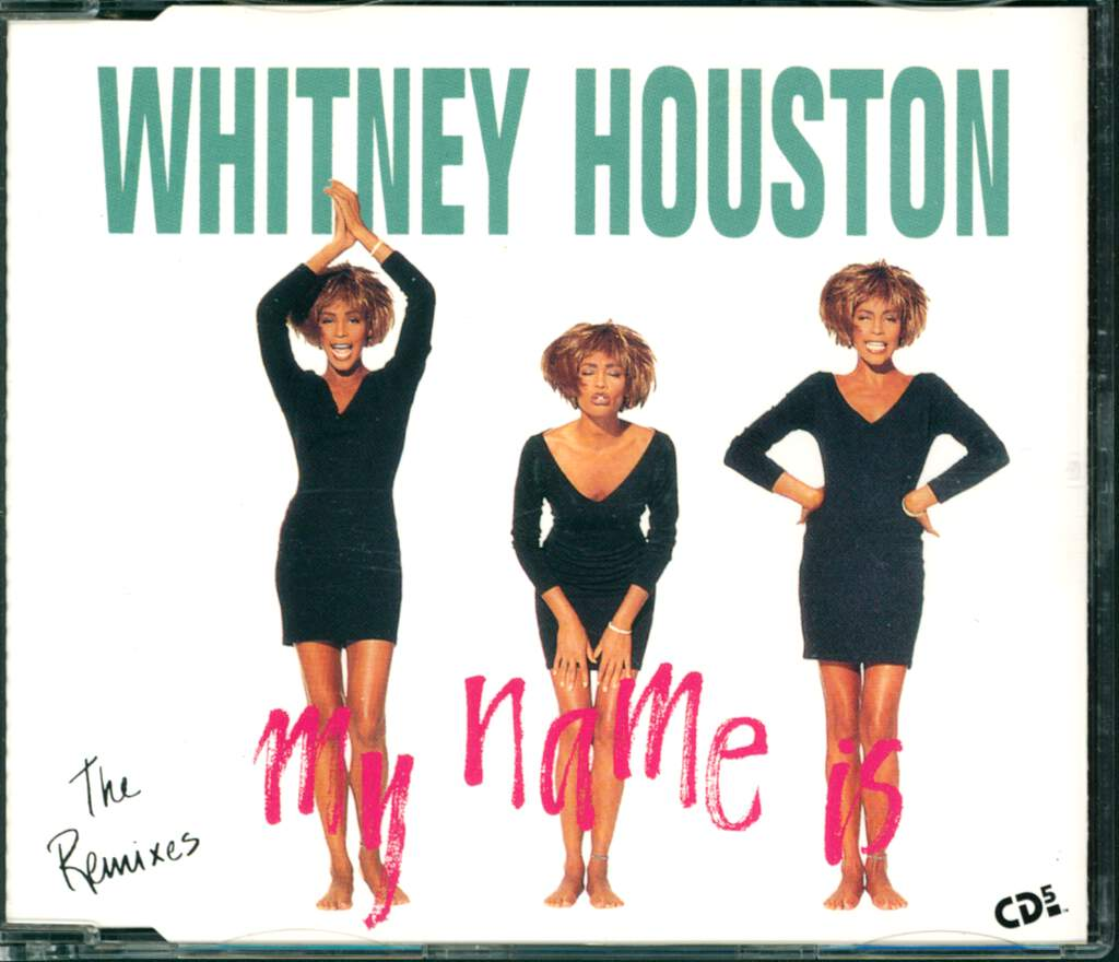 Whitney Houston: My Name Is Not Susan (The Remixes), Mini CD