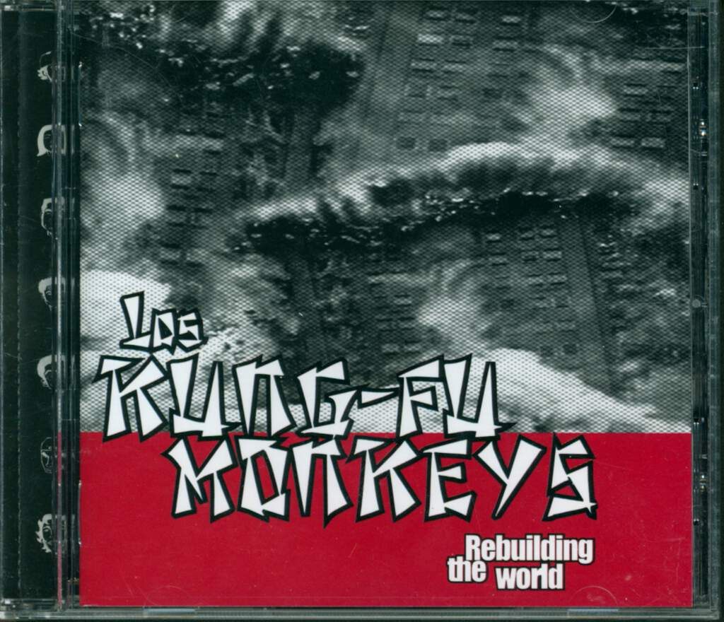 Los Kung Fu Monkeys: Rebuilding The World, CD
