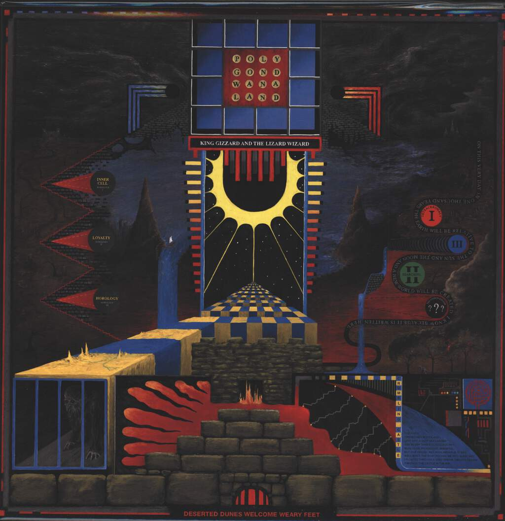 King Gizzard And The Lizard Wizard: Polygondwanaland, LP (Vinyl)