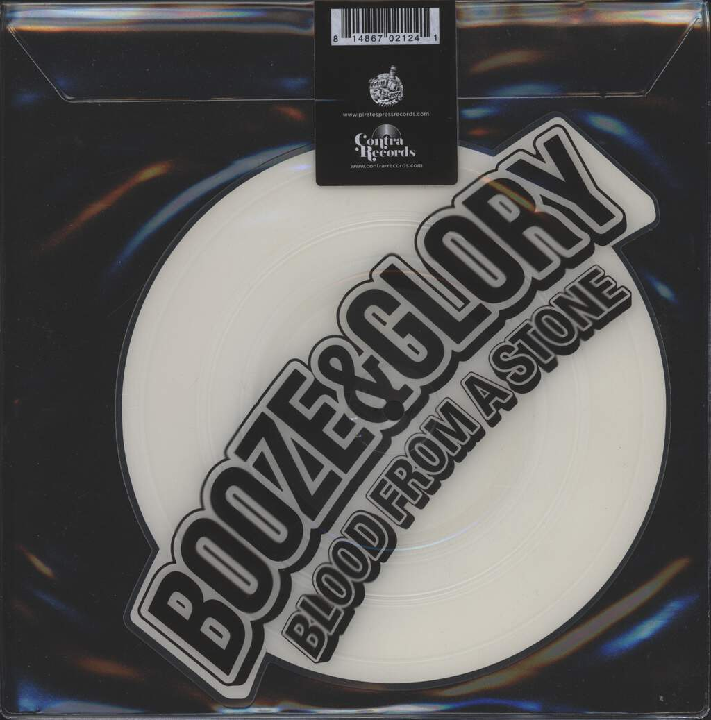 "Booze & Glory: Carry On / Blood From A Stone, 8"" Vinyl"