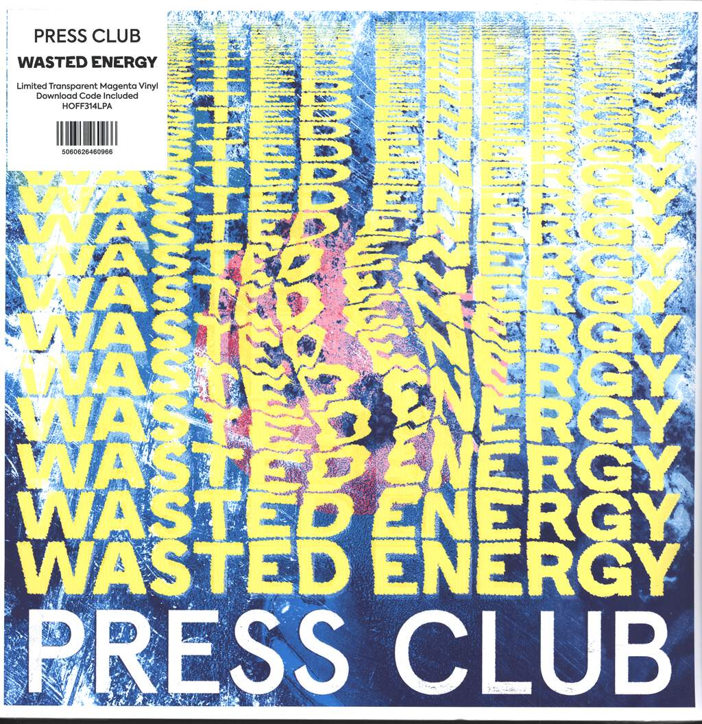 Press Club: Wasted Energy, LP (Vinyl)