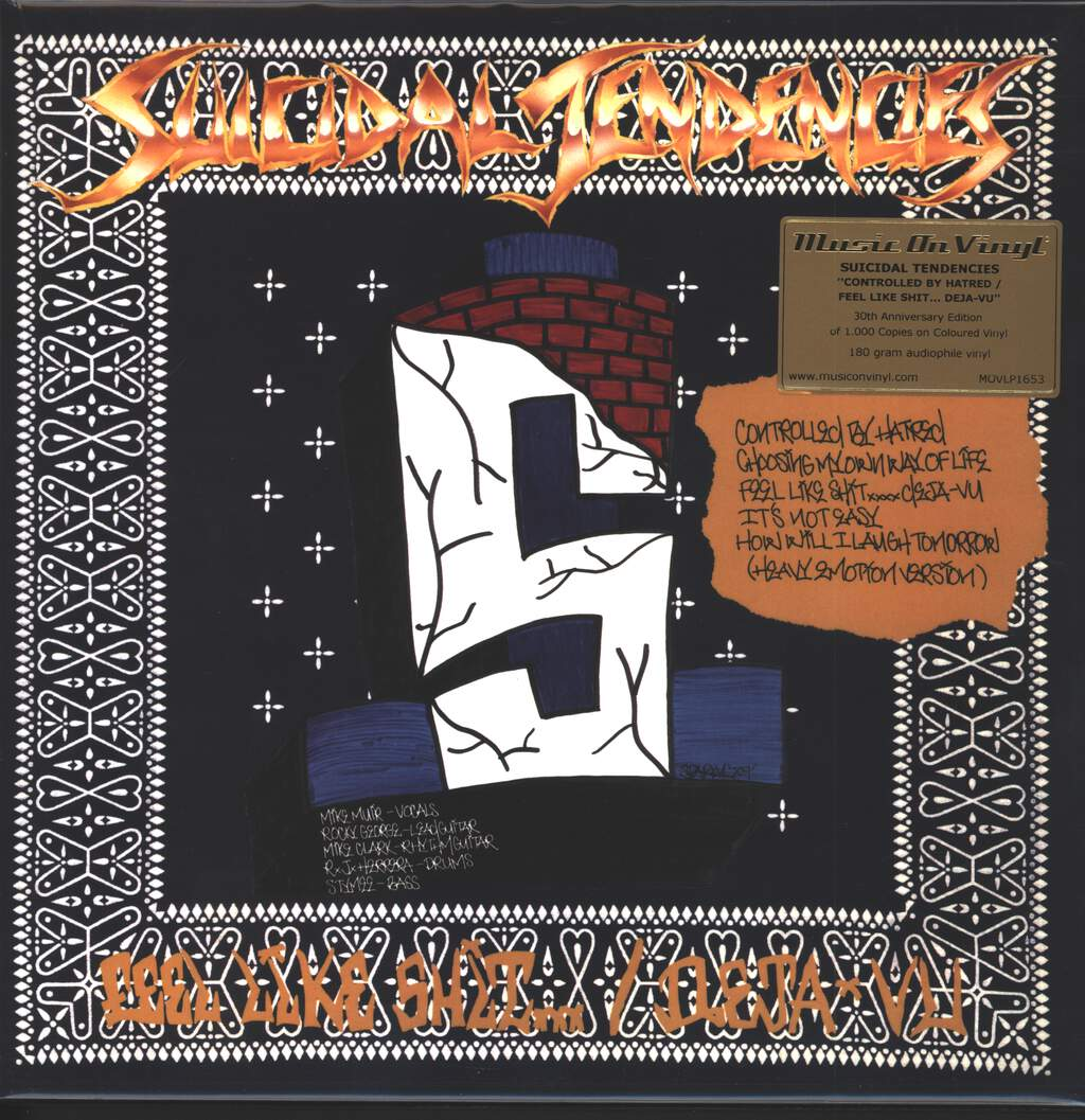 Suicidal Tendencies: Controlled By Hatred / Feel Like Shit...Deja-Vu, LP (Vinyl)
