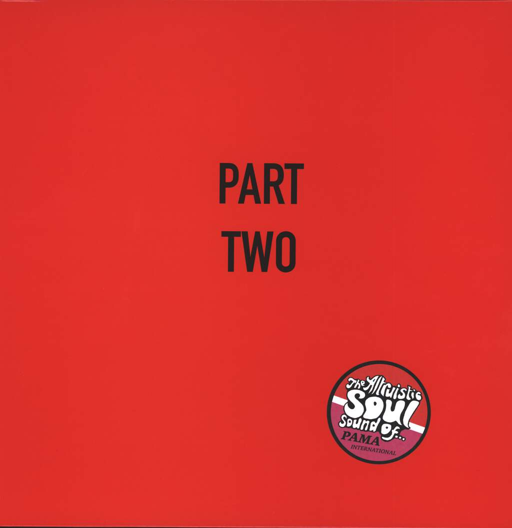 Pama International: The Altruistic Soul Sound of... Part Two, LP (Vinyl)