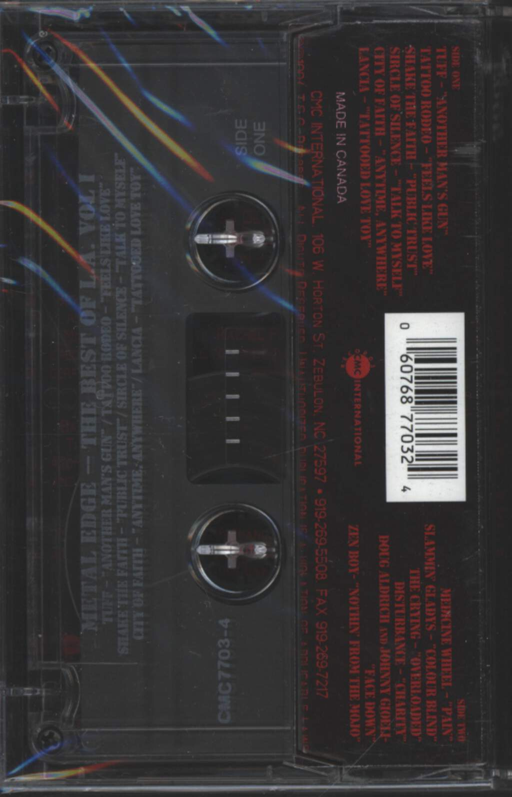 Various: Best Of L.A, Tape