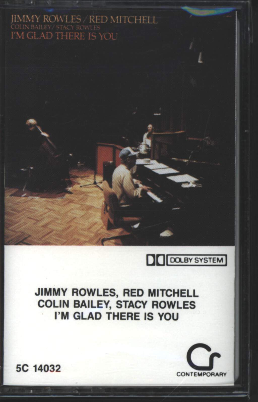 Jimmy Rowles: I'm Glad There Is You, Tape