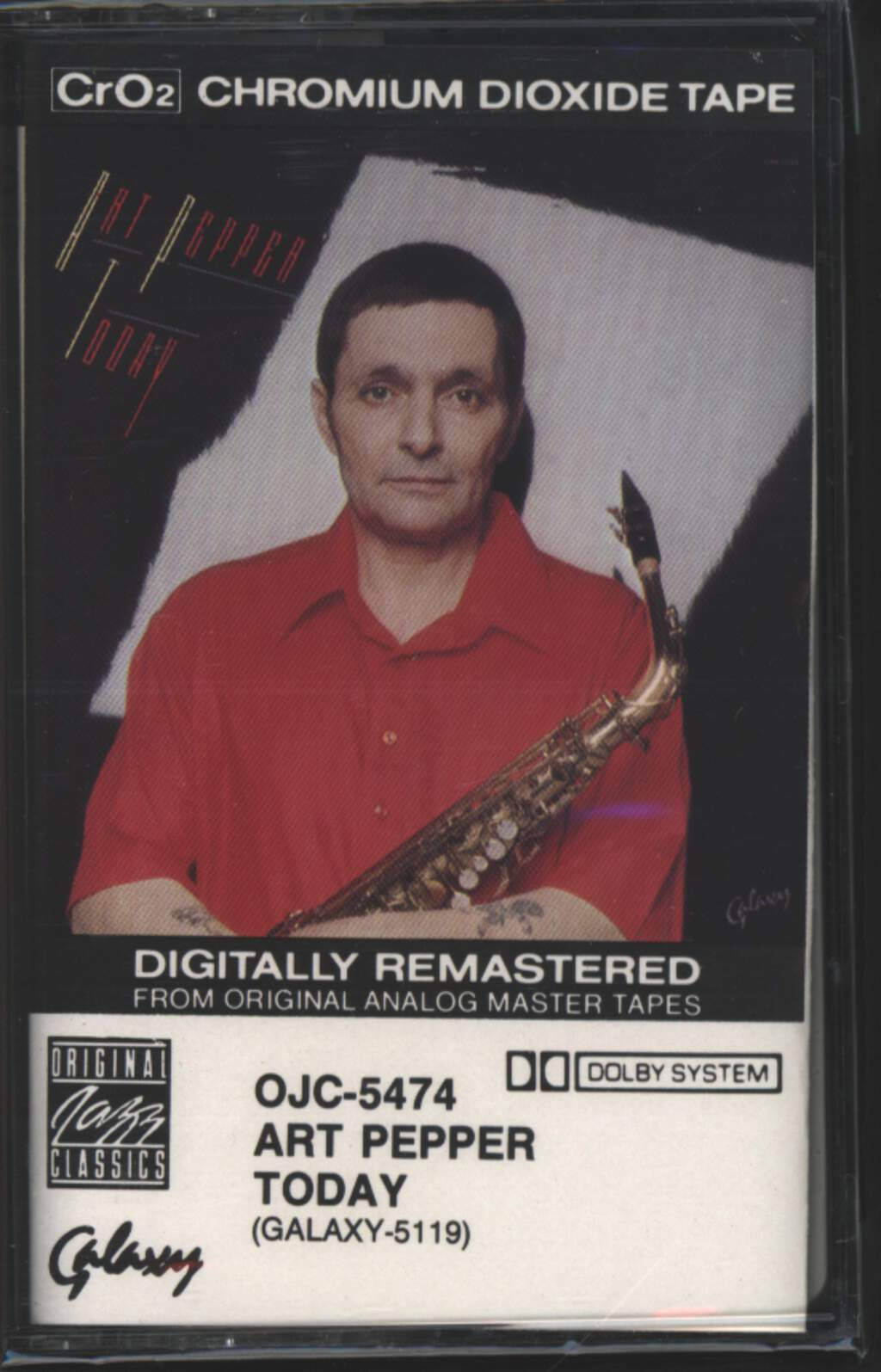 Art Pepper: Today, Tape
