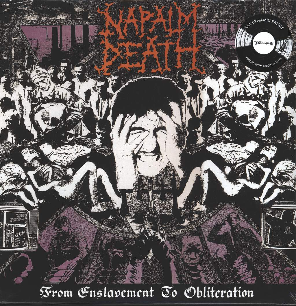 Napalm Death: From Enslavement To Obliteration, LP (Vinyl)