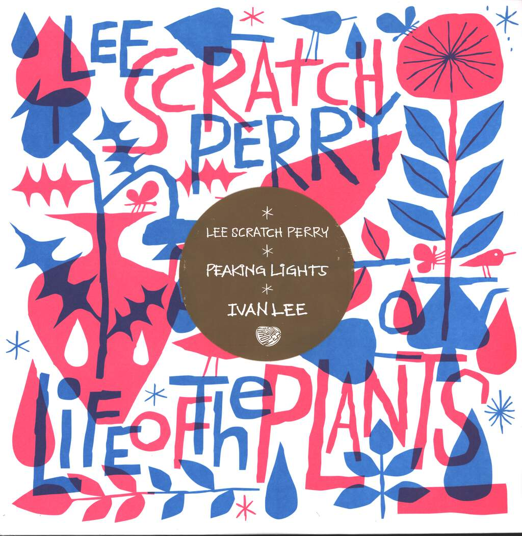 "Lee Perry: Life Of The Plants, 12"" Maxi Single (Vinyl)"