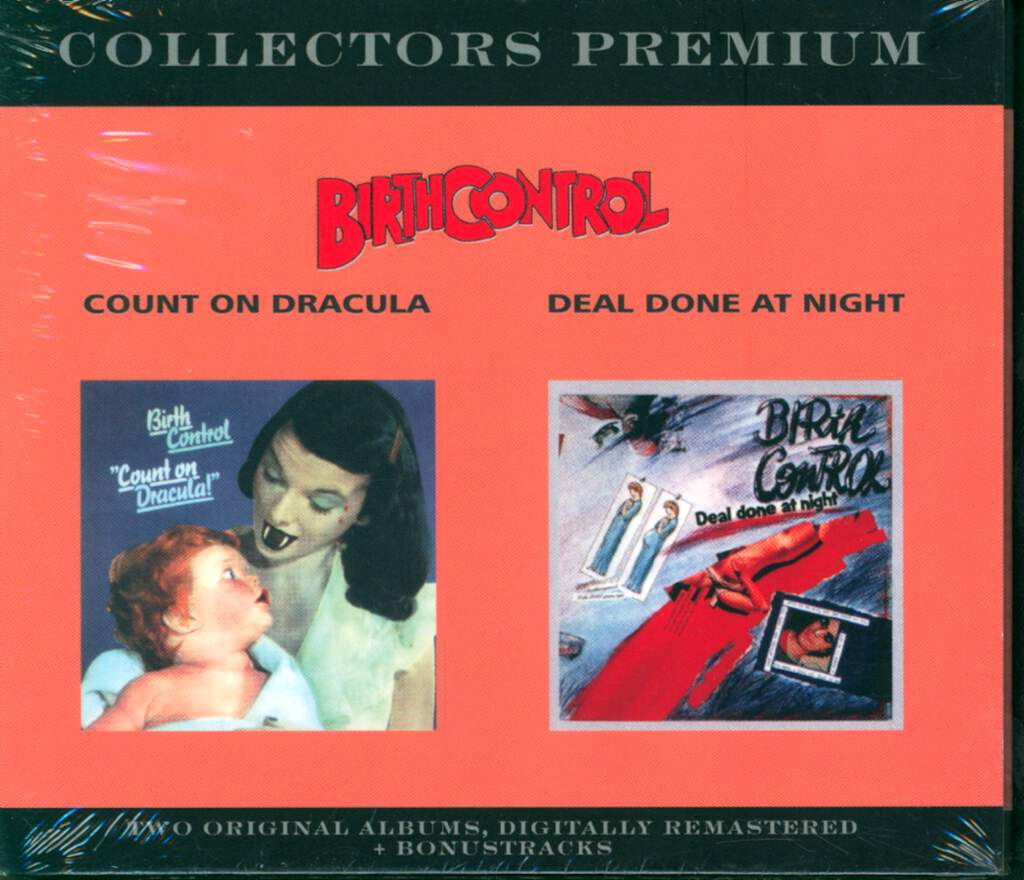 Birth Control: Collectors Premium: Count On Dracula / Deal Done At Night, 2×CD
