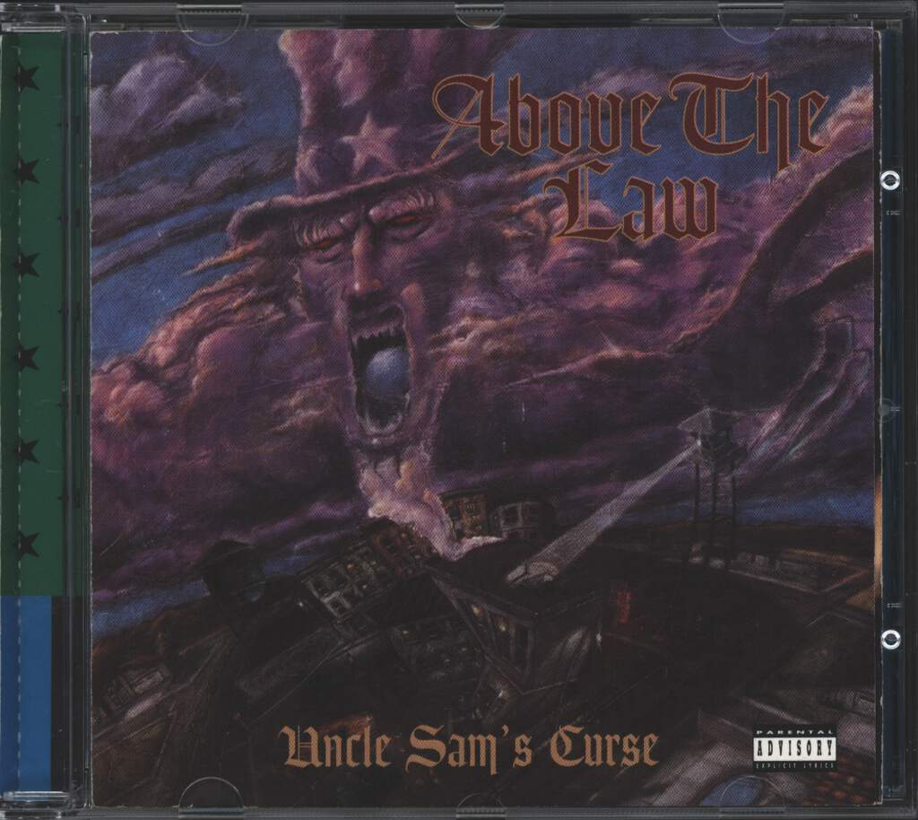 Above the Law: Uncle Sam's Curse, CD