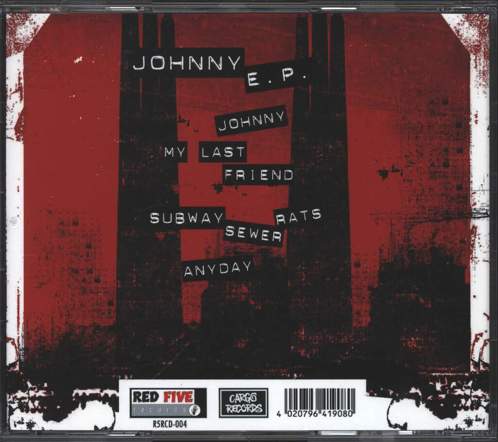 The Sewer Rats: Johnny EP, Mini CD