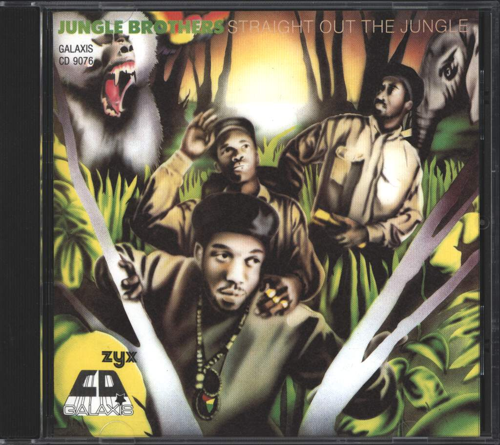 Jungle Brothers: Straight Out The Jungle, CD
