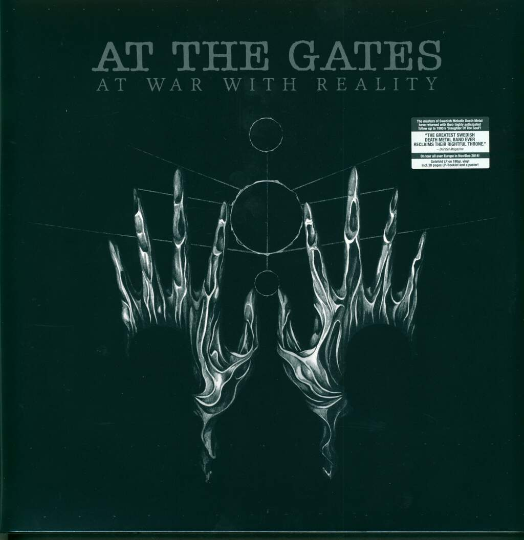 At The Gates: At War With Reality, LP (Vinyl)
