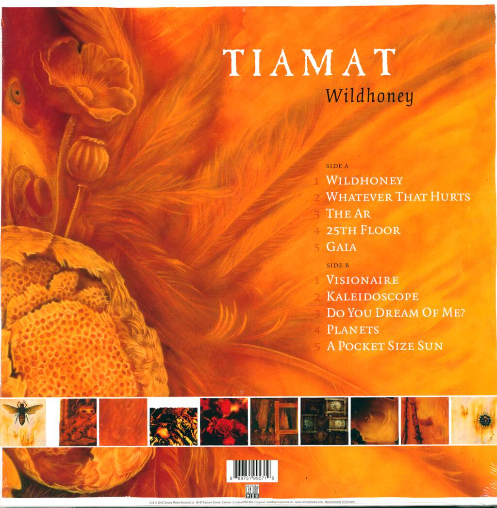 Tiamat: Wildhoney, LP (Vinyl)