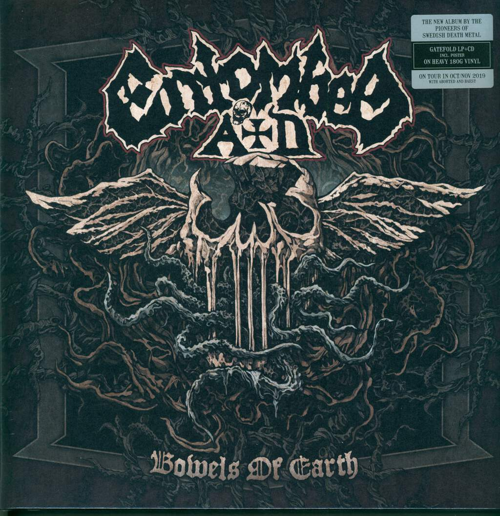 Entombed A.D.: Bowels Of Earth, LP (Vinyl)