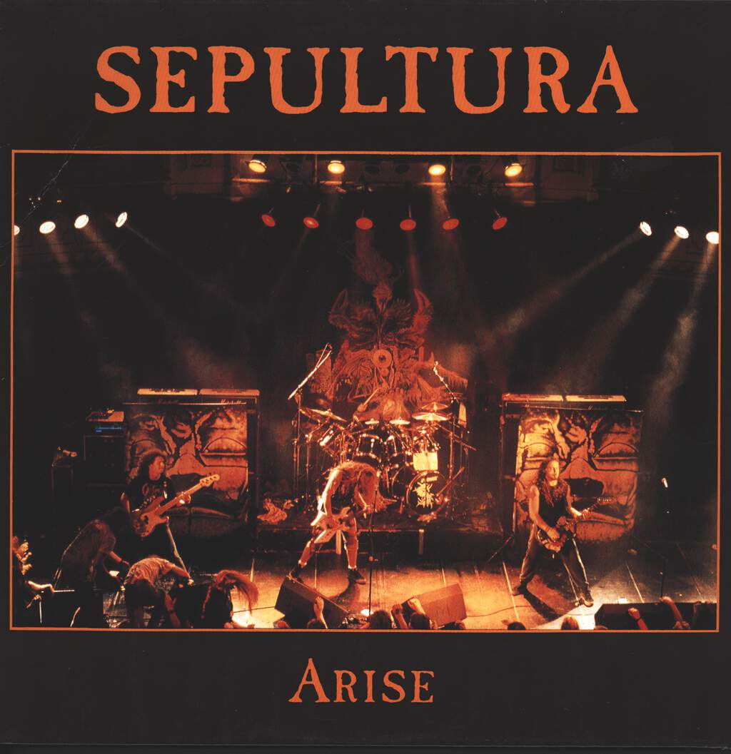 "Sepultura: Arise, 12"" Maxi Single (Vinyl)"