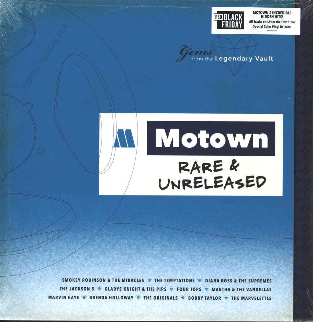 Various: Motown Rare & Unreleased - Gems From The Legendary Vault, LP (Vinyl)