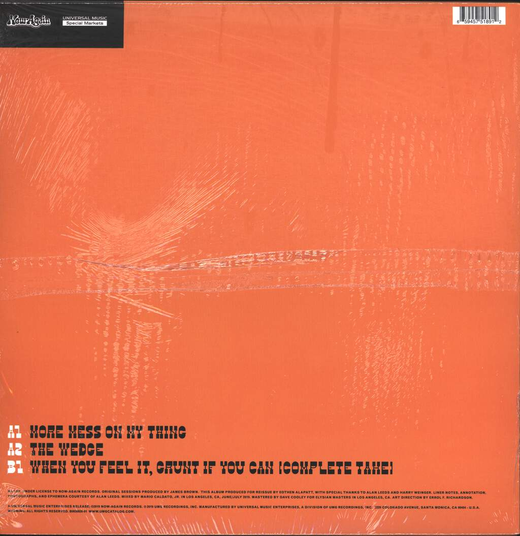 The J.B.'s: More Mess On My Thing, LP (Vinyl)