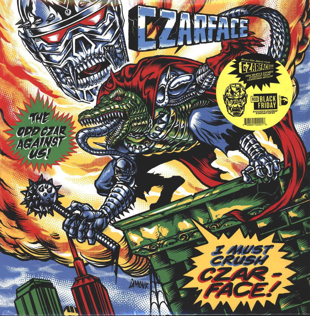 Czarface: The Odd Czar Against Us!, LP (Vinyl)