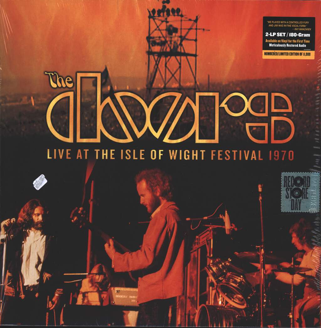 The Doors: Live at the Isle of Wight Festival 1970, 2×LP (Vinyl)