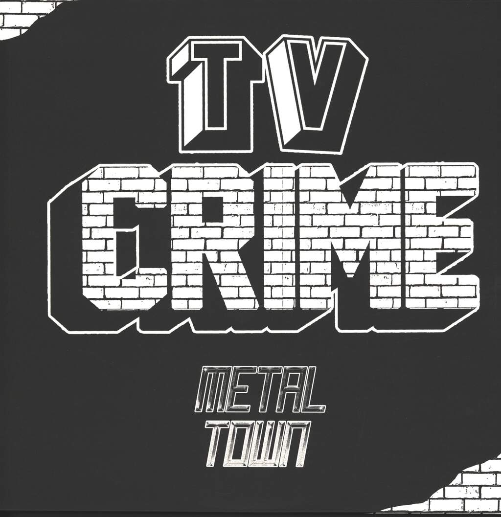 TV Crime: Metal Town, LP (Vinyl)