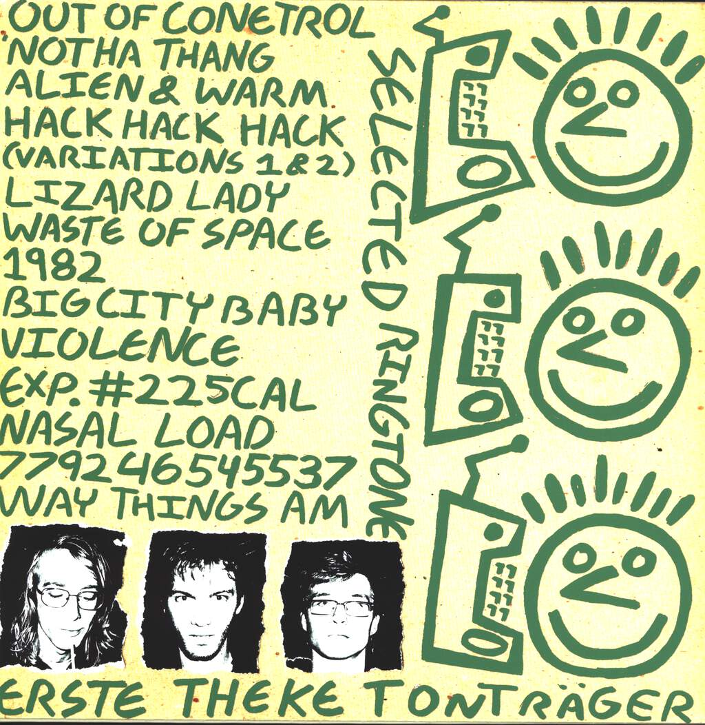 The Coneheads: L.P.1. Aka 14 Year Old High School PC-Fascist Hype Lords Rip Off Devo For The Sake Of Extorting $$$ From Helpless Impressionable Midwestern Internet Peoplepunks L.P., LP (Vinyl)