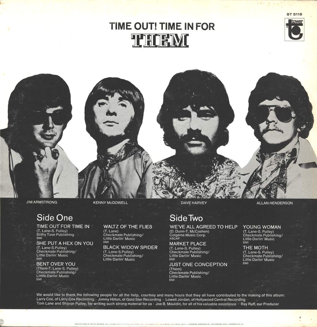 Them: Time Out! Time In For Them, LP (Vinyl)