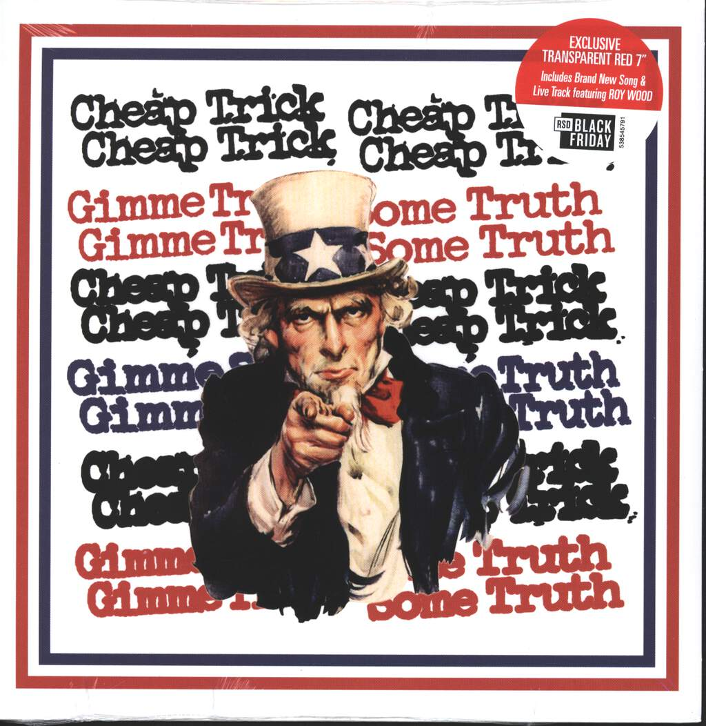 """Cheap Trick: Gimme Some Truth, 7"""" Single (Vinyl)"""
