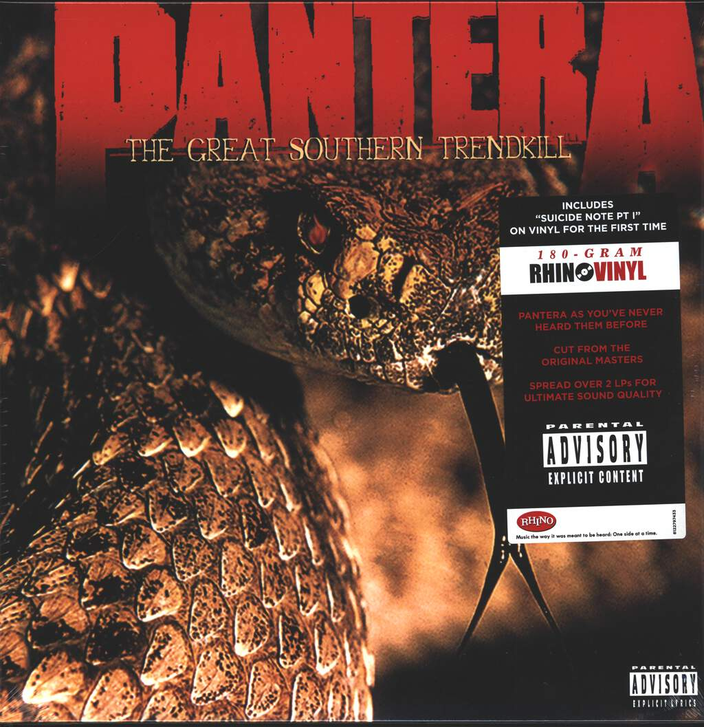 Pantera: The Great Southern Trendkill, 2×LP (Vinyl)