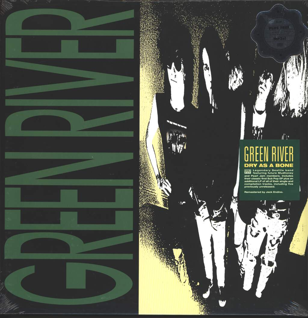 Green River: Dry As A Bone, 2×LP (Vinyl)