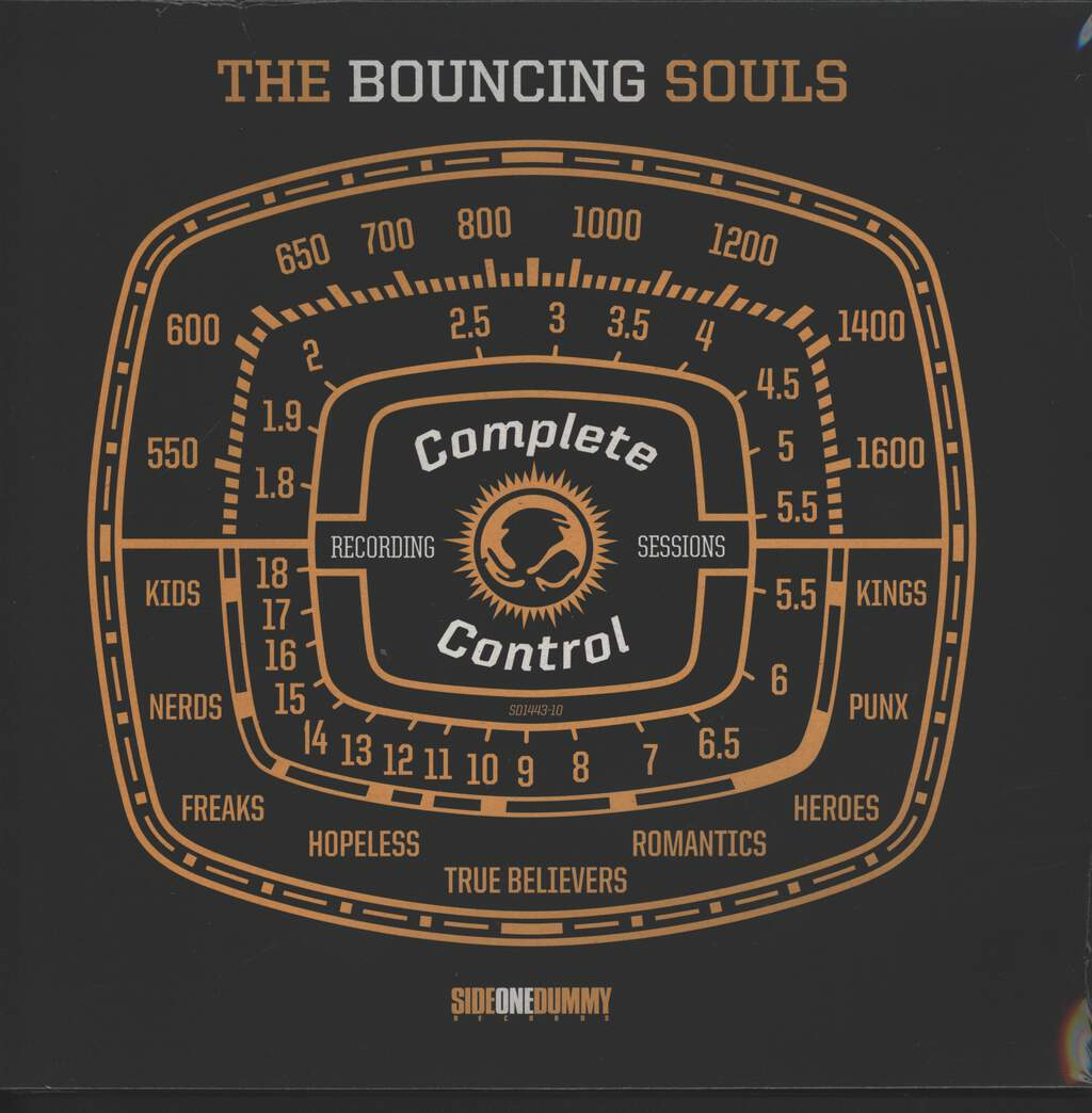 """The Bouncing Souls: Complete Control Recording Sessions, 10"""" Vinyl EP"""