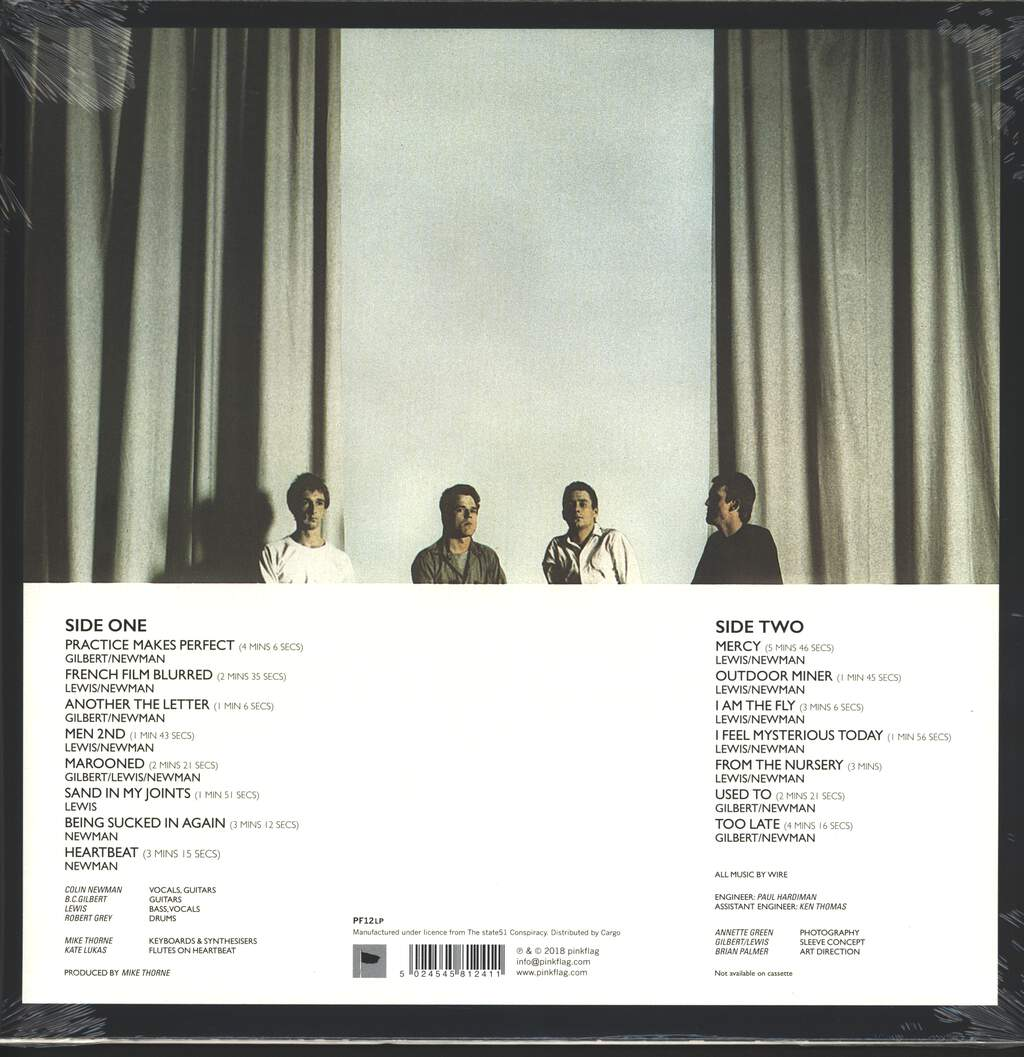 Wire: Chairs Missing, LP (Vinyl)