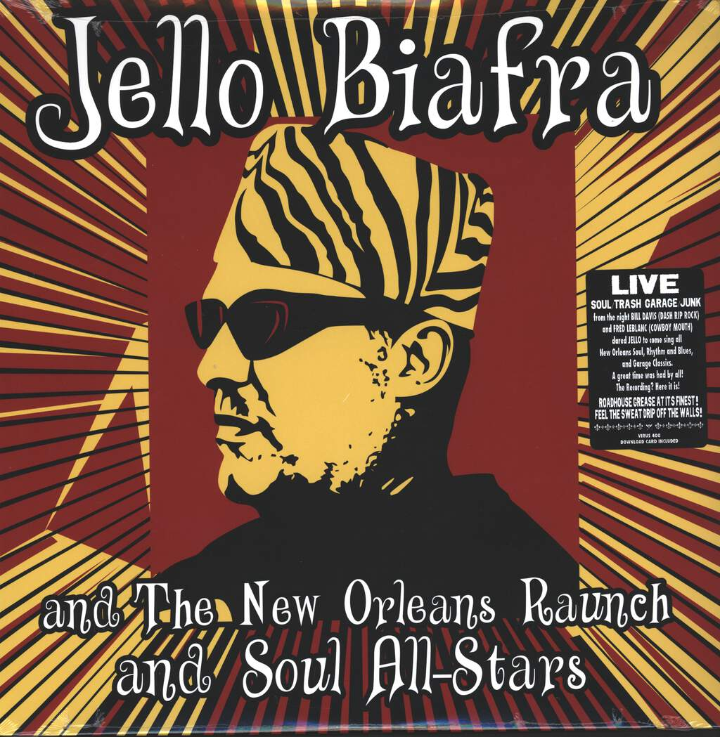 Jello Biafra And The New Orleans Raunch And Soul All-Stars: Walk On Jindal's Splinters, LP (Vinyl)