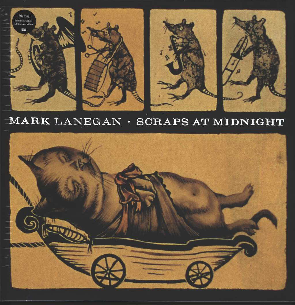 Mark Lanegan: Scraps At Midnight, LP (Vinyl)
