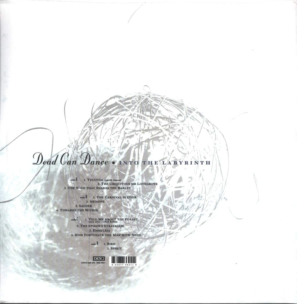 Dead Can Dance: Into The Labyrinth, 2×LP (Vinyl)