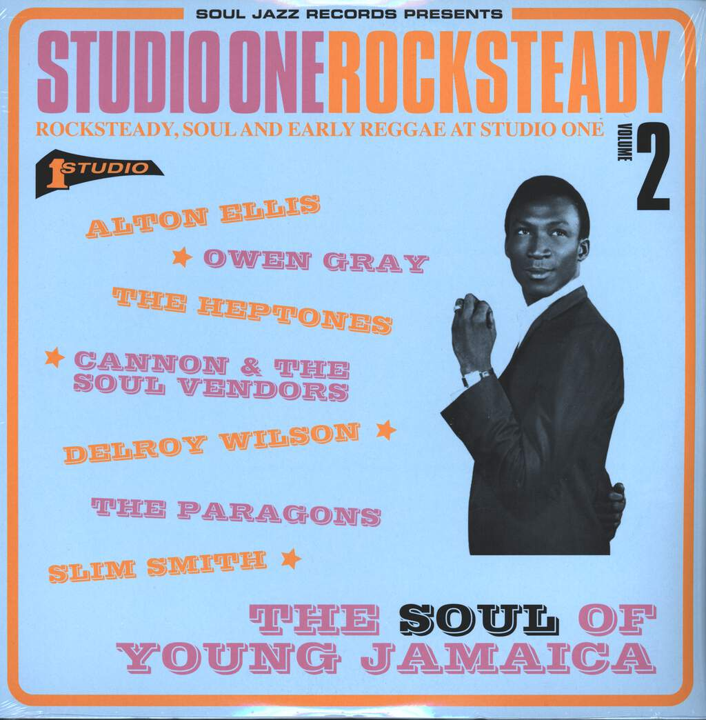 Various: Studio One Rocksteady Volume 2 (Rocksteady, Soul And Early Reggae At Studio One: The Soul Of Young Jamaica), 2×LP (Vinyl)