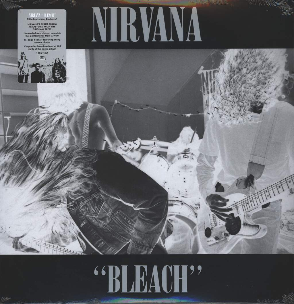 Nirvana: Bleach, 2×LP (Vinyl)