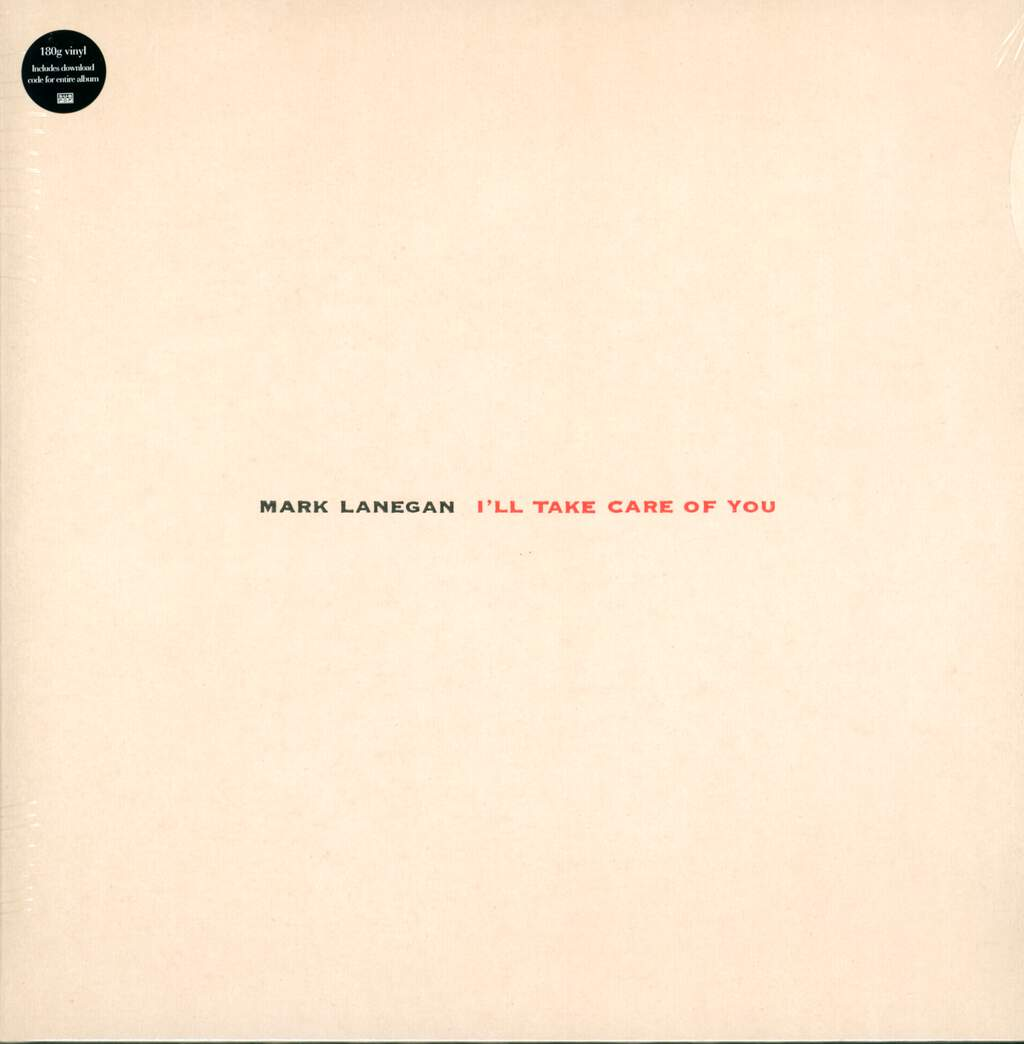 Mark Lanegan: I'll Take Care Of You, LP (Vinyl)