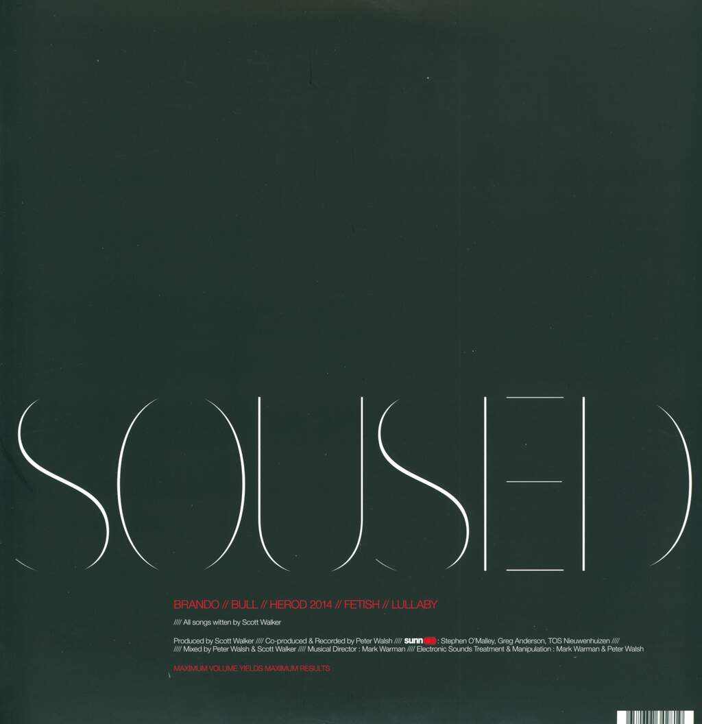 Scott Walker: Soused, 2×LP (Vinyl)
