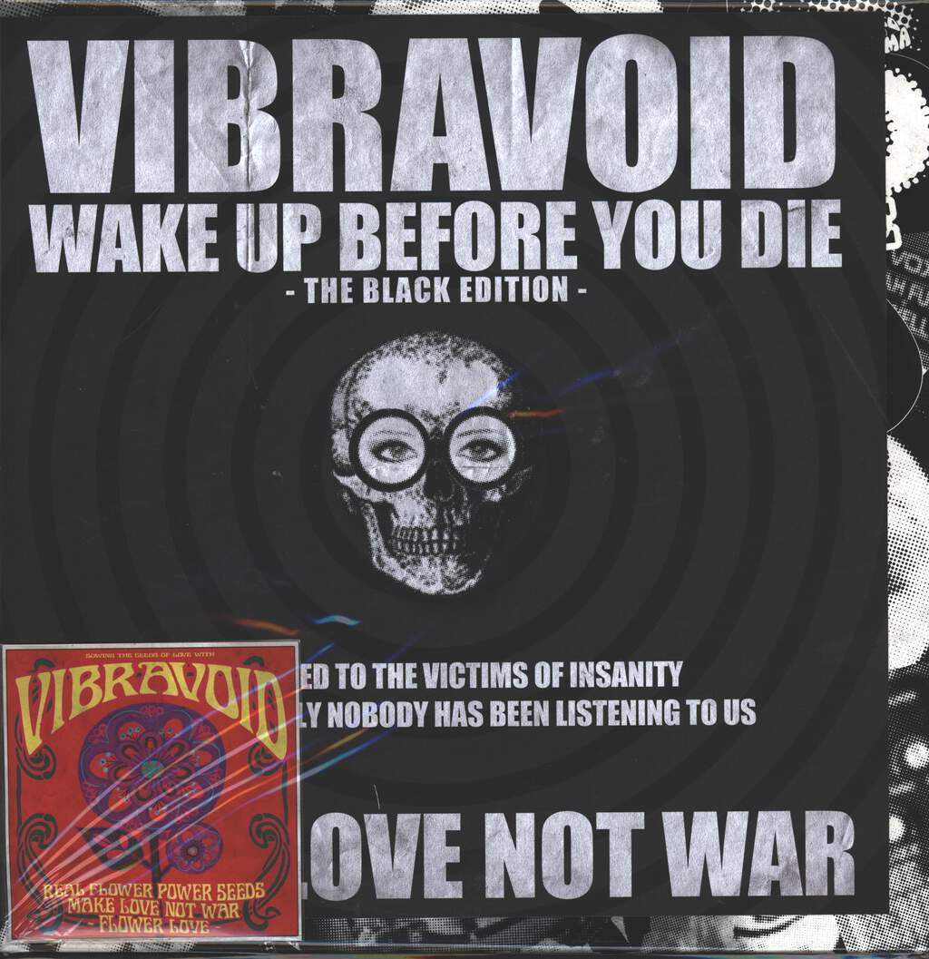 Vibravoid: Wake Up Before You Die - The Black Edition, LP (Vinyl)