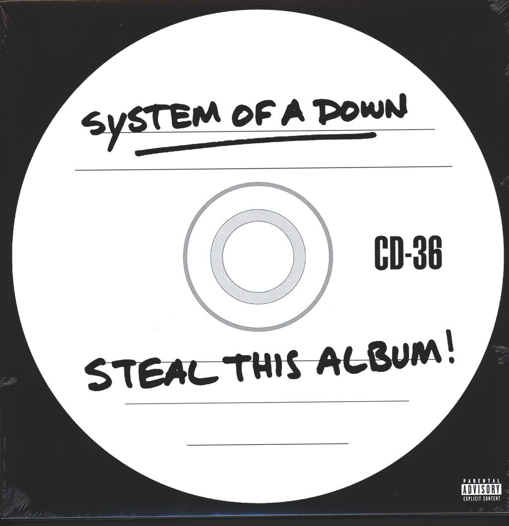 System Of a Down: Steal This Album!, 2×LP (Vinyl)