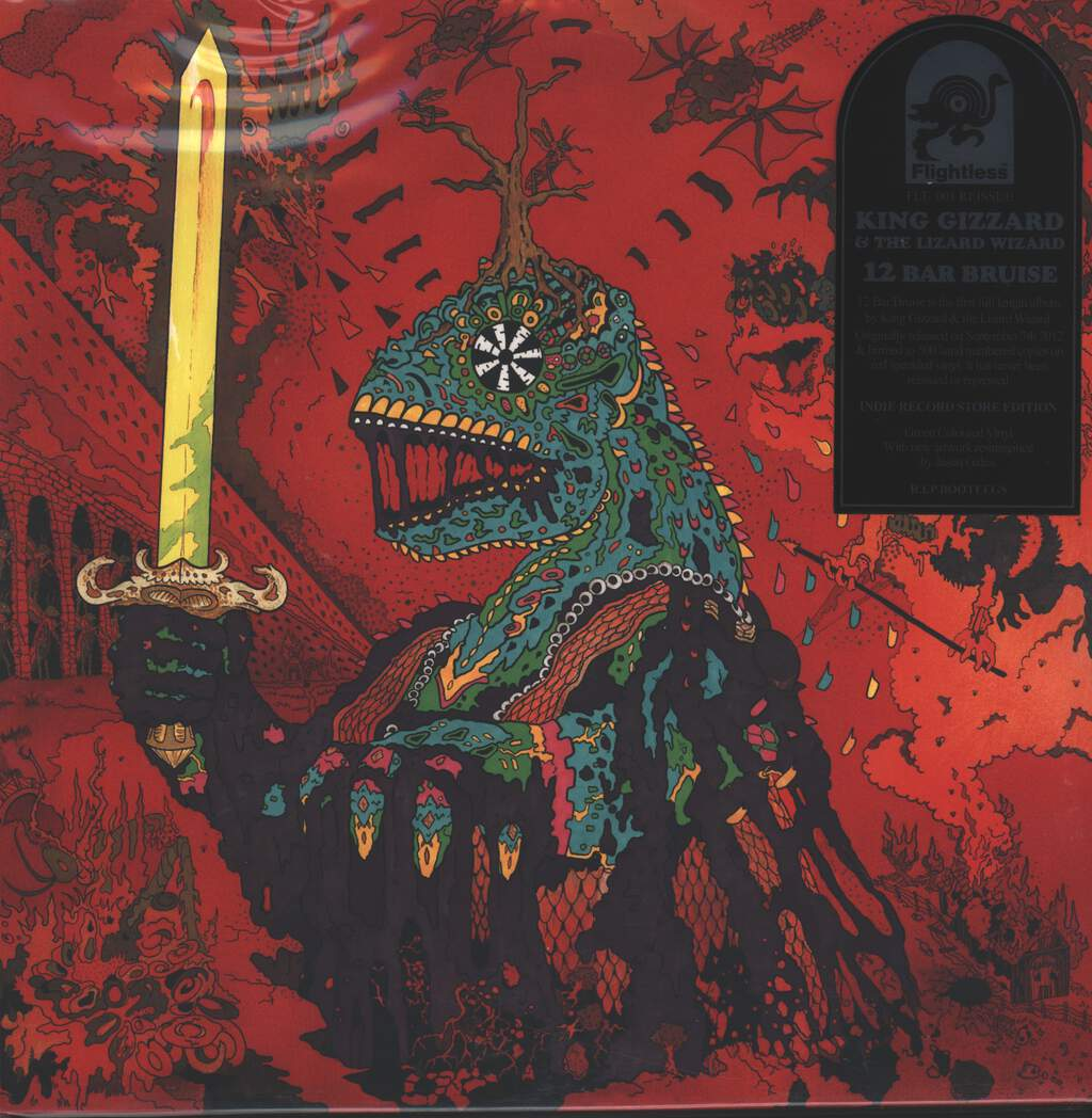 King Gizzard And The Lizard Wizard: 12 Bar Bruise, LP (Vinyl)