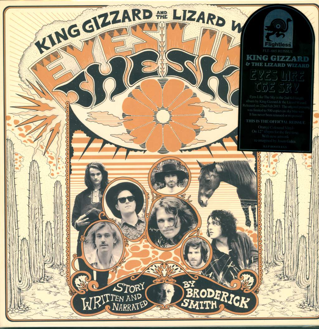 King Gizzard And The Lizard Wizard: Eyes Like The Sky, LP (Vinyl)
