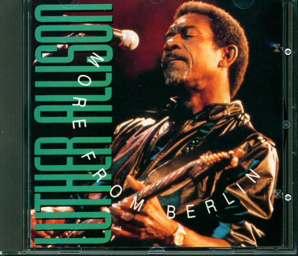Luther Allison: More From Berlin, CD