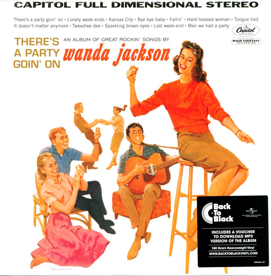 Wanda Jackson: There's A Party Goin' On, LP (Vinyl)