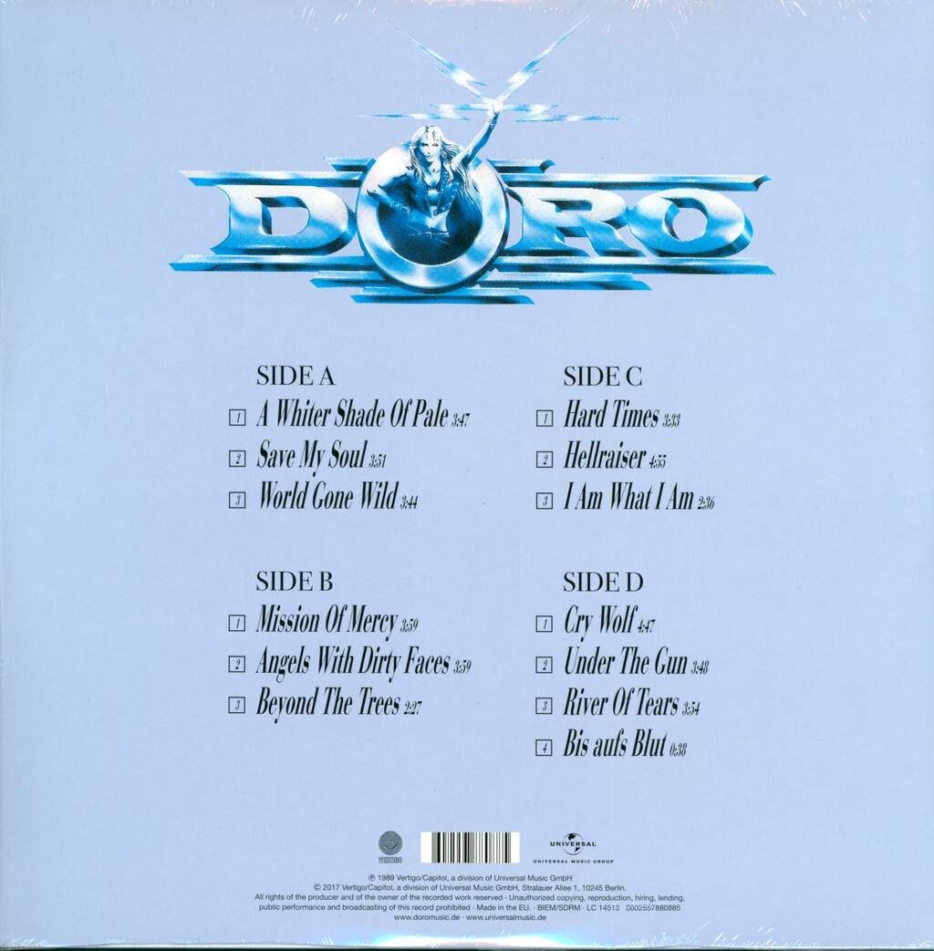Doro: Force Majeure, 2×LP (Vinyl)