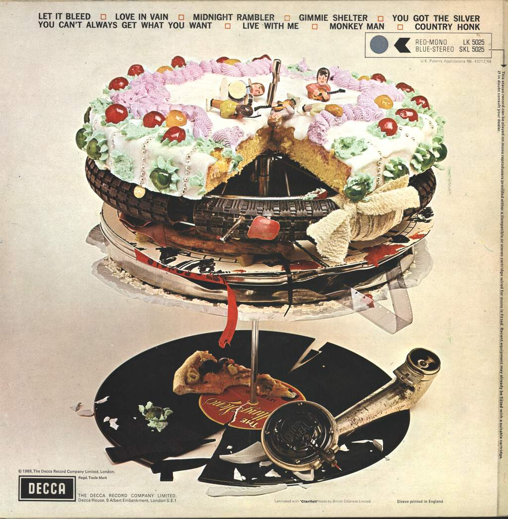 The Rolling Stones: Let It Bleed, LP (Vinyl)