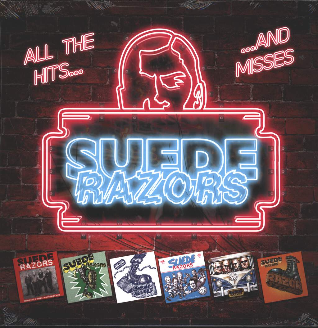 Suede Razors: All The Hits... ...And Misses, LP (Vinyl)