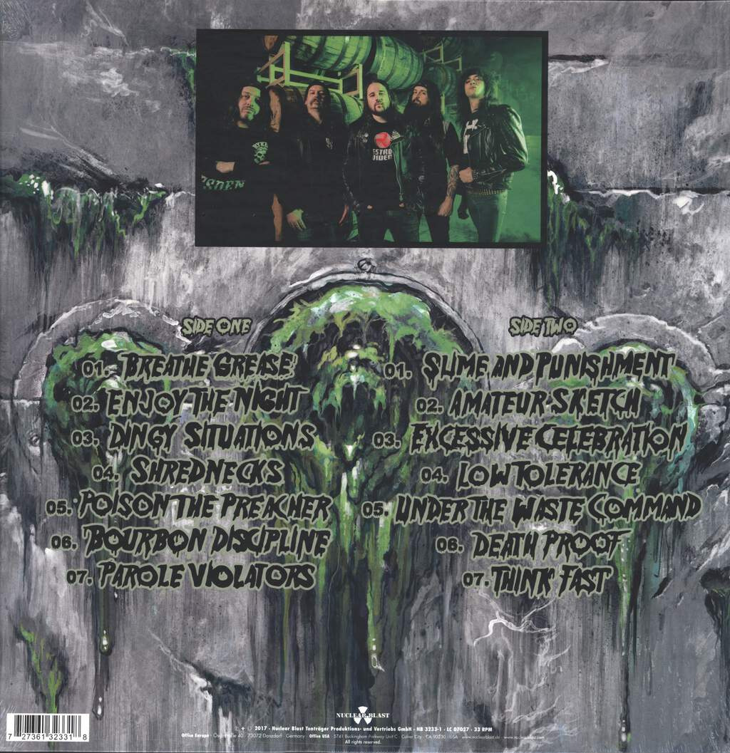Municipal Waste: Slime And Punishment, LP (Vinyl)
